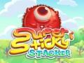 ゲームズ Super Sticky Stacker
