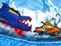 ゲームズ Car Eats Car: Winter Adventure