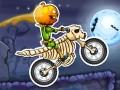 ゲームズ Moto X3M Spooky Land