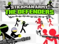 ゲームズ Stickman Army: The Defenders