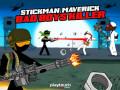 ゲームズ Stickman Maverick: Bad Boys Killer