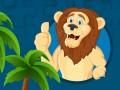 ゲームズ Strong Lions Jigsaw