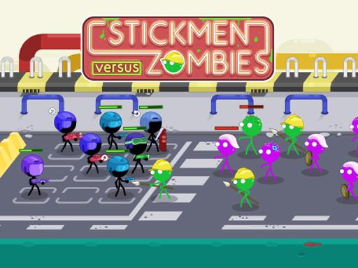 stickmen vs zombies ゲーム 無料ゲーム オンラインゲーム